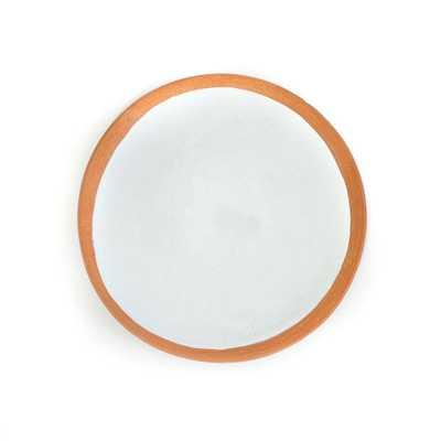 White Cilla Plate - Domino