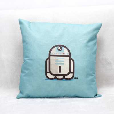 R2D2 Star Wars Pillow Cushion Cover - insert not included - Etsy