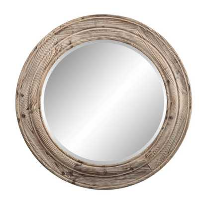 Porthole Mirror Brown - Domino