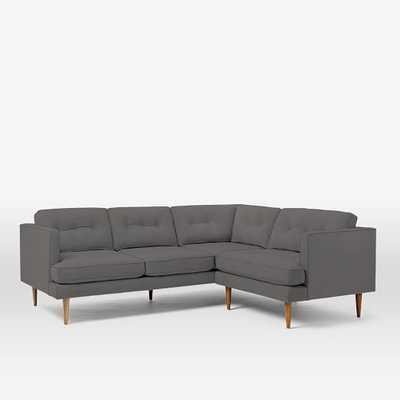 Peggy Mid-Century L-shaped Sectional - West Elm