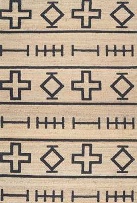 Berta Native Symbols Rug - 5' x 8' - Rugs USA