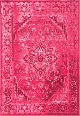 Ashlina Persian Overdyed Vintage Rug - Rugs USA