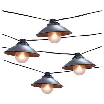 Metal Pendant String Lights - Target