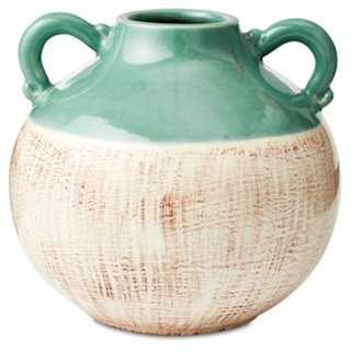 "8"" Ceramic Two Tone Jug - One Kings Lane"