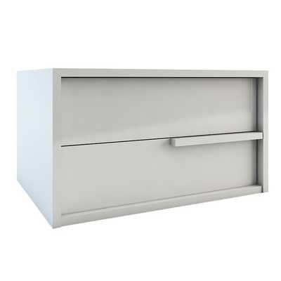 Jane 2 Drawer Nightstand- White Lacquer - right - AllModern