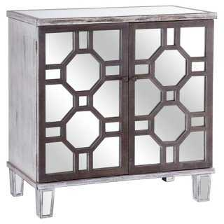 Porter Mirrored Cabinet - One Kings Lane