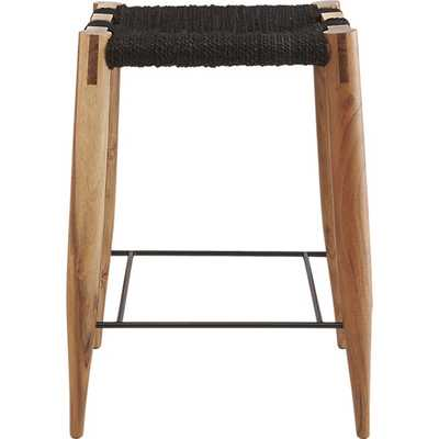 "wrap 24"" counter stool - CB2"