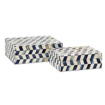 Essentials 2 Piece Bone Box Set - AllModern