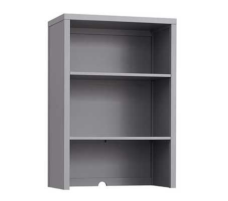 Build Your Own Preston Wall System - Bookcase Hutch - Charcoal - Pottery Barn Kids
