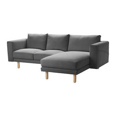 NORSBORG Loveseat with chaise - Ikea