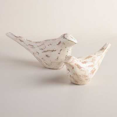 Carved Wood Bird Figure - Small - World Market/Cost Plus