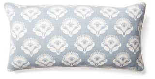 Poppy Cotton Pillow - One Kings Lane