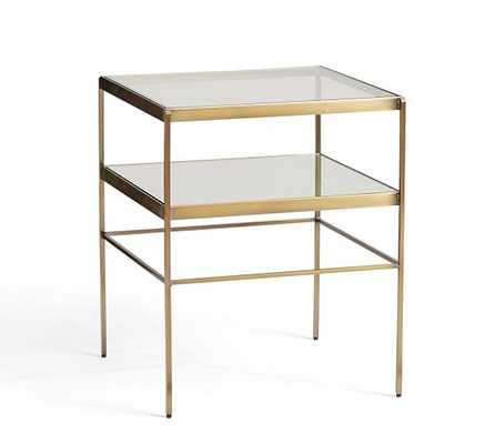 Leona Cube Table - Pottery Barn