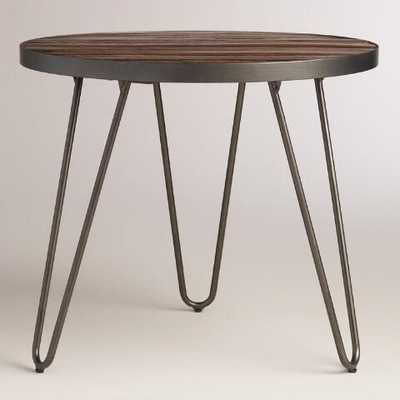 Wood Hairpin End Table - World Market/Cost Plus