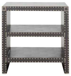 Edie Side Table, Gray - One Kings Lane