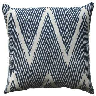 Pillow Perfect Bali Navy 18-inch Throw Pillow - Polyester fill - Overstock