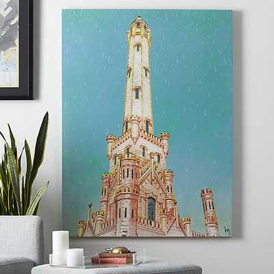 Water tower print - 36x48 - Unframed - CB2