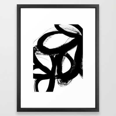 "Wild tulips - 20"" x 26"" - Framed - Society6"