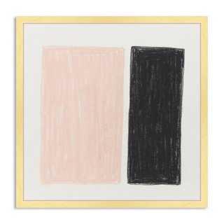"Catherine Jones, Colorblock - 40"" x 40"" - Framed - One Kings Lane"