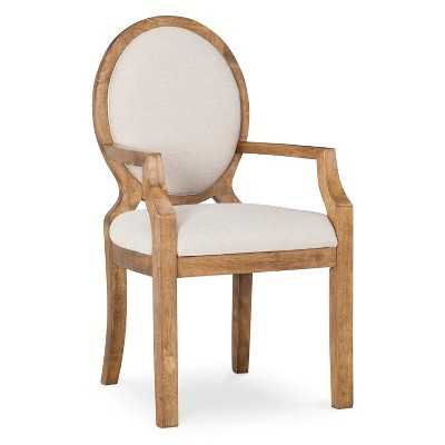 Morris Oval Back Dining Chair with Arms - Target