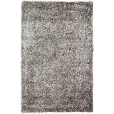 Safavieh Medley Grey Textured Shag Rug - Overstock