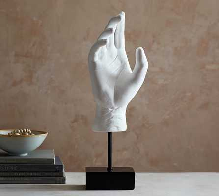 HAND SCULPTURE OBJECT - Pottery Barn