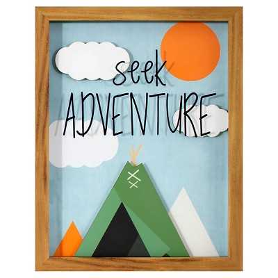 Seek Adventure Framed Art - 14x11 - Target