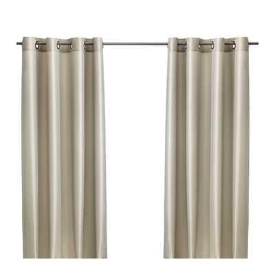 """PÃ""""RLBUSKE Curtains, 1 pair, beige - Ikea"""