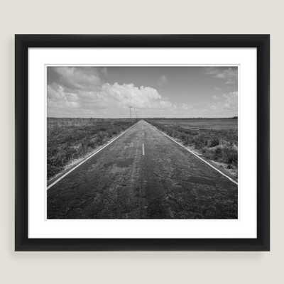 Long Road Home Framed Shadowbox Wall Art 22.75 x 18.75 - World Market/Cost Plus