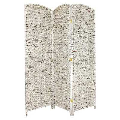 6 ft. Tall Recycled Newspaper Room Divider - 3 Panel - Target