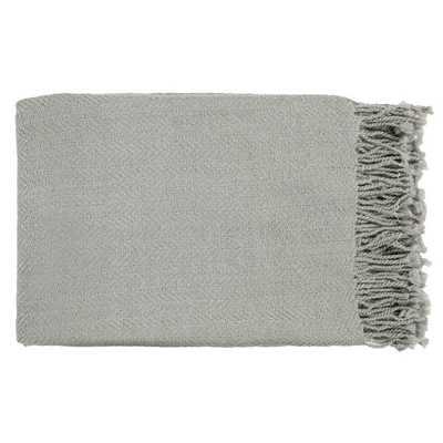 Woven Saki Acrylic Throw Blanket - Overstock