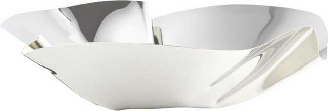 krimp silver bowl - CB2