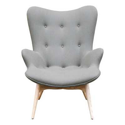 Jules Arm Chair - Grey - AllModern