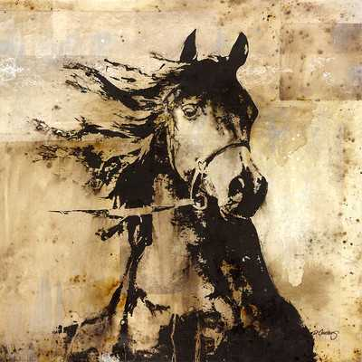 """""""Mettle"""" Painting Print on Wrapped Canvasby Portfolio Canvas - Wayfair"""
