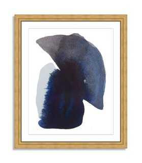 """Kate Roebuck, Water Colorstudy 5 - 33"""" x 40"""" - Framed - One Kings Lane"""