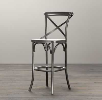 METAL MADELEINE STOOL - Counter - RH