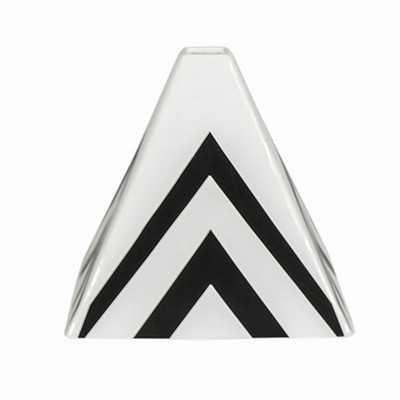 "Pandora Pyramid Vase-  6.89"" H x 7.48"" W x 7.48"" D - Wayfair"