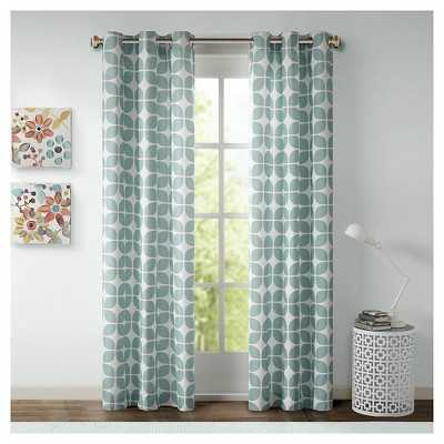 "Sonya Geometric Curtain Panel Pair-42""x84"" - Target"