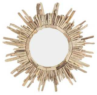 Driftwood Sunburst Wall Mirror - One Kings Lane