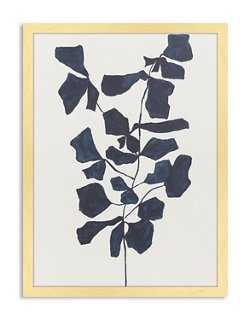 Catherine Jones, Indigo Fiddle Leaf Fig - One Kings Lane