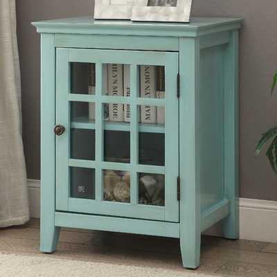Largo Antique Single Door Cabinetby Beachcrest Home - Wayfair