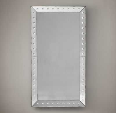 18TH C. VENETIAN GLASS BEVELED LEANER MIRROR - RH