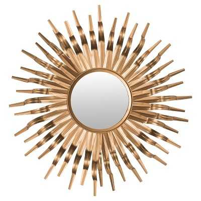 Safavieh Gold Sunburst Wall Mirror - Target