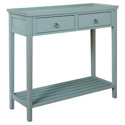 Abney Console Table - Blue - Target