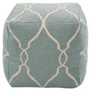 Arbor Wool Pouf - One Kings Lane