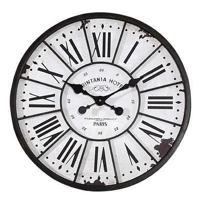"Oversized 24"" Wall Clock - Wayfair"