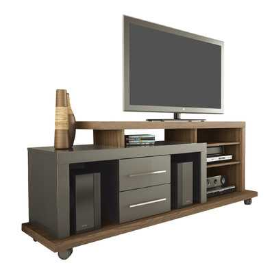 Empire TV Stand- Chocolate and Onyx / Pro Touch - Wayfair