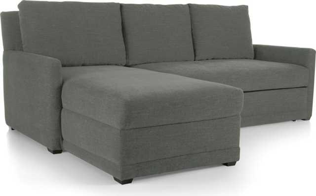 Reston 2-Piece Sleeper Sectional Sofa - Crate and Barrel