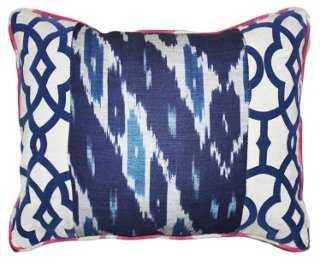 Raji Cotton-Blend Pillow - One Kings Lane