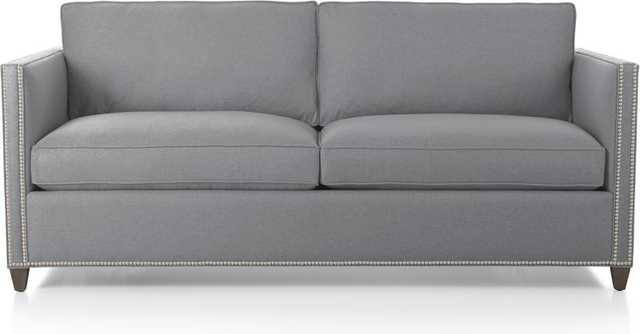 Dryden Full Sleeper Sofa with Nailheads - Crate and Barrel